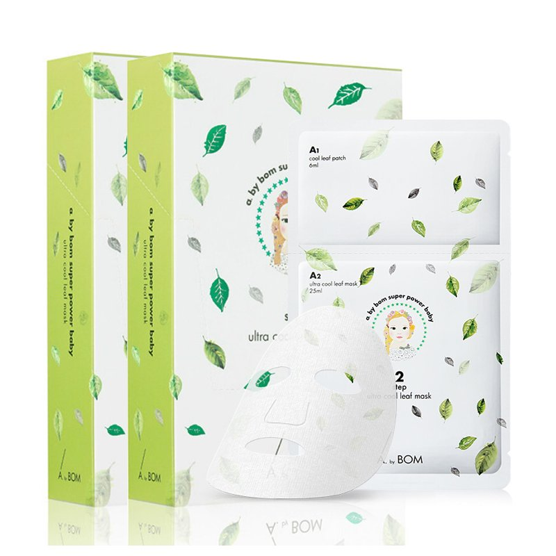 A by Bom Super Power Baby Ultra Cool Leaf 2 Steps Sheet Mask Pack (10  sc 1 st  Amazon.com & Amazon.com: A. by BOM Super Power Baby Doll Mask 10pcs - Korea ...
