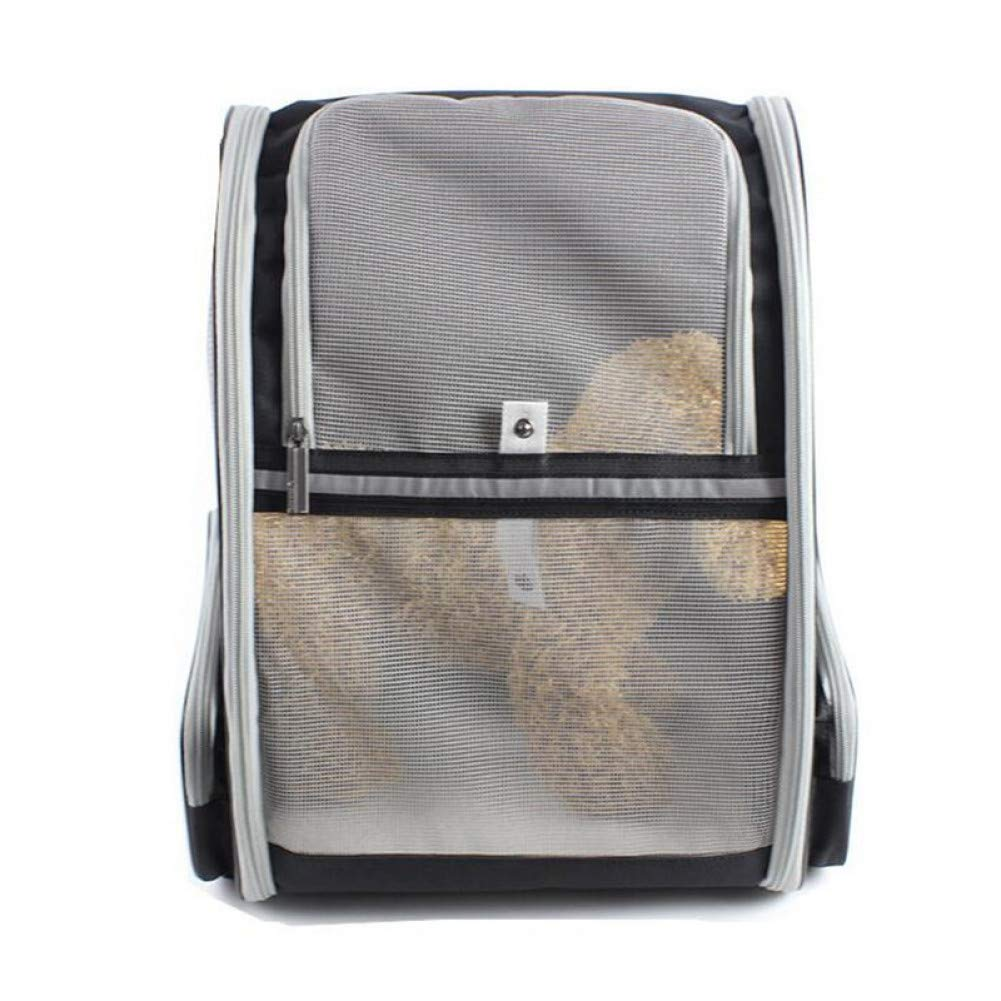 1 42.5x38x32cm 1 42.5x38x32cm ZIOFV Package Ultralight Outdoor Pet Carrier Large Size Space Handbag Ultra-Breathable Foldable Pet Backpack for Travel Pet Carrier Bag