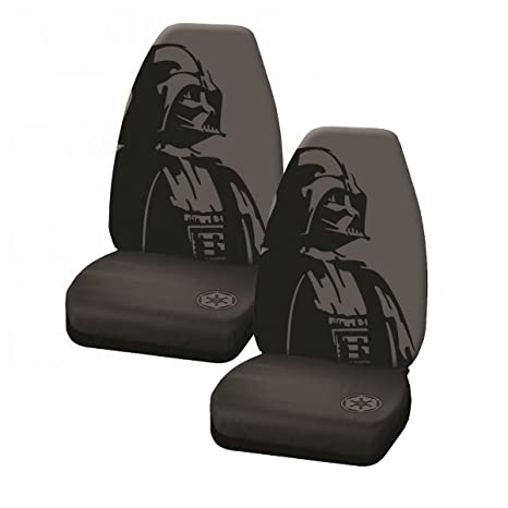Darth Vader With Galactic Empire Logo Star Wars Car Truck SUV Universal Fit Bucket Seat