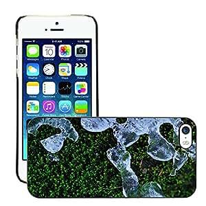Super Stellar Slim PC Hard Case Cover Skin Armor Shell Protection // M00052220 melting aero macro ice // Apple iPhone 5 5S