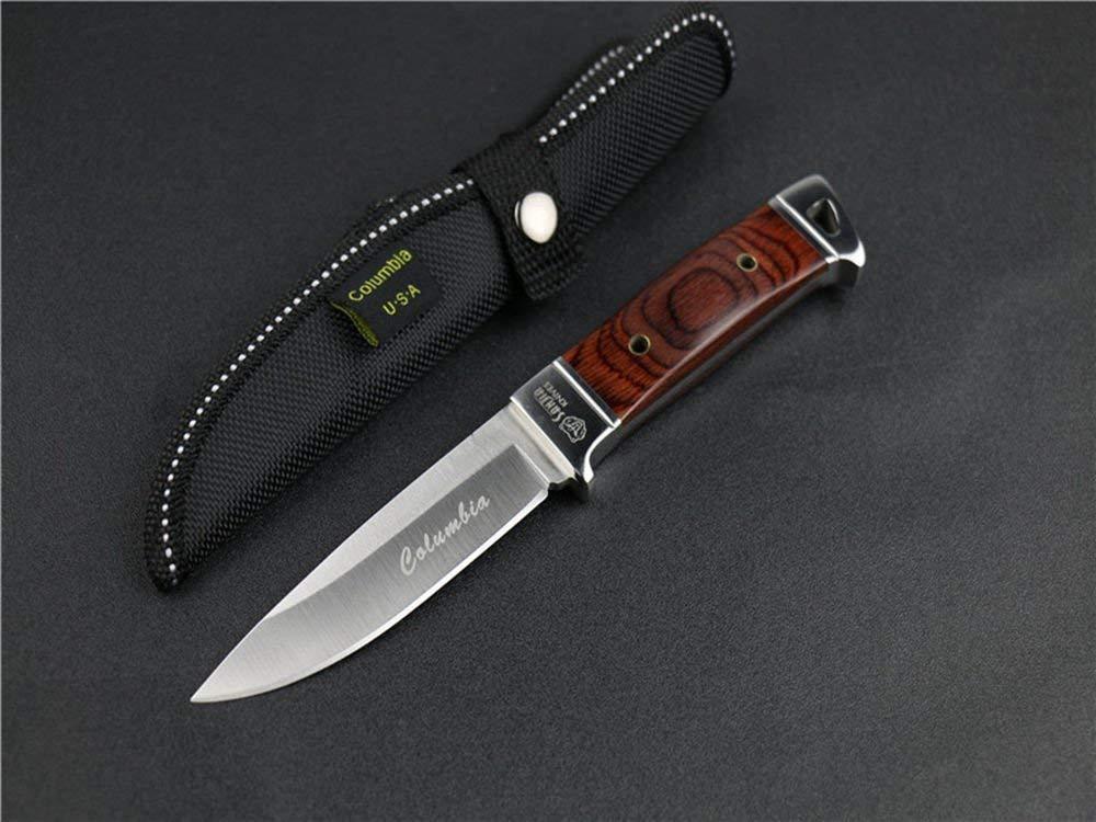 FARDEER Knife Cuchillo de Supervivencia al Aire Libre Cuchillo de Hoja Fija