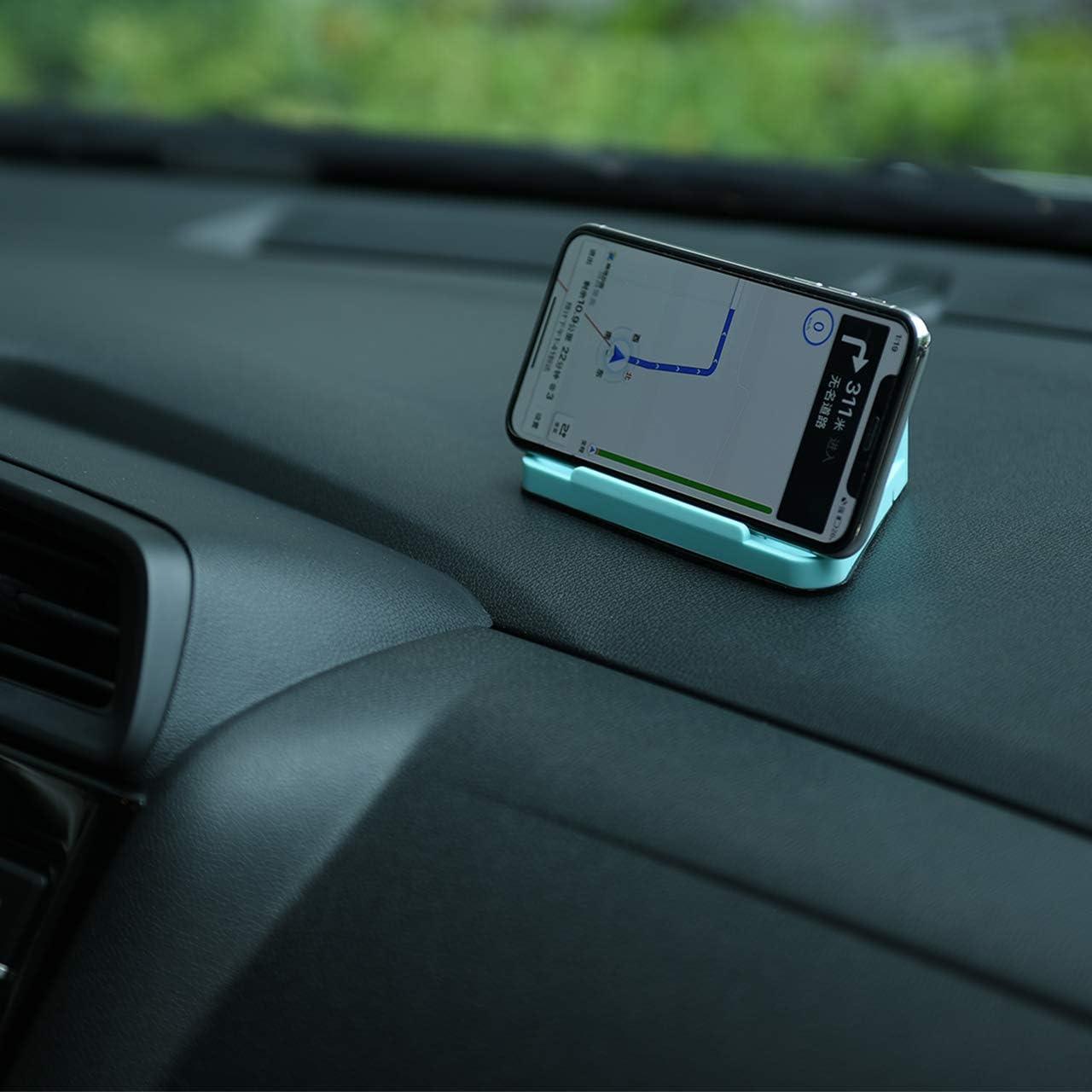 Dark Grey TXEsign Car Dashboard Desk Prop Stand Holder for Sunglass Phone with Non Slip Grip Pad