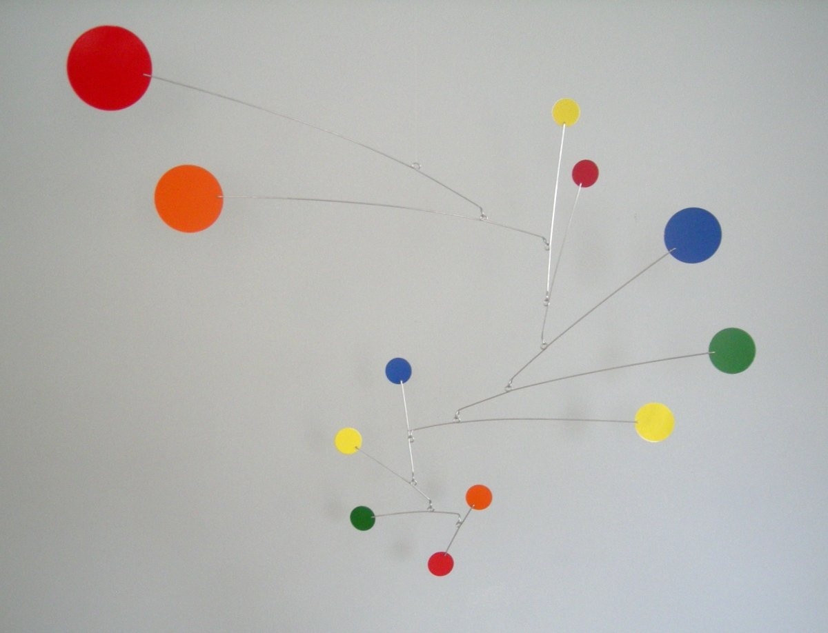 Rainbow Circles Mobile by MODmobiles