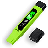 Digital TDS-Meter, Accurate and Reliable, HoneForest TDS, EC & Temp Meter 3 in 1, 0-9990ppm, Ideal Water-r-PPM-Meter…
