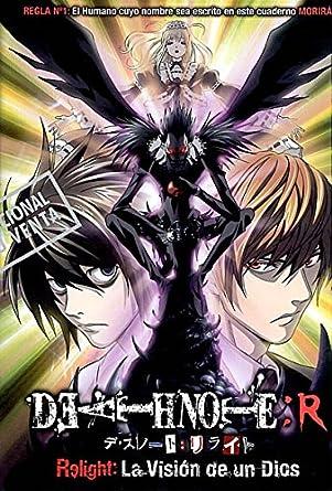 Death Note Relight Import Dvd 2012 Animación Obata Takeshi Amazon
