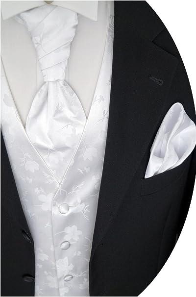 beytnur boda Chaleco con Plastron, toalla de inserción y corbata nº ...
