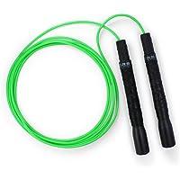 EliteSRS Beginner Jump Rope for Adults - Fitness Cardio Training - Long Handles/Comfortable Foam Grip/Forgiving PVC Cord…
