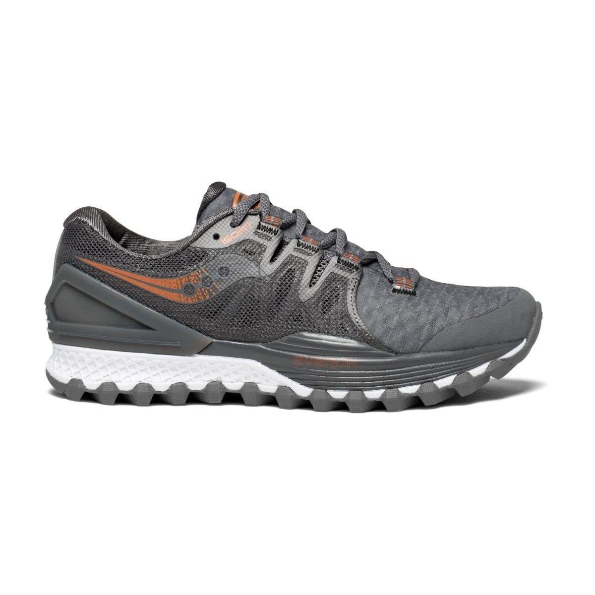 Saucony Xodus ISO 2, Zapatillas de Deporte para Mujer 41 EU|Gris (Gry / Den / Copa 30)
