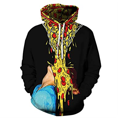 Black 3D Hoodie Sweatshirt Men Women Winter Long Sleeve Mens Hoodies Male Hip Hop Streetwear Show