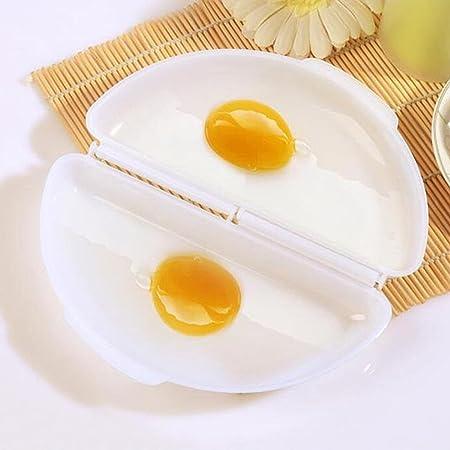 myedo nuevo hogar cocina útil blanco huevos microondas omelet ...
