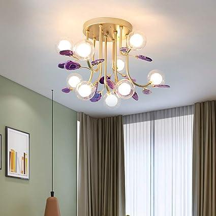 L&L Lámpara de Techo Moderna Minimalista Creativa luz de ...