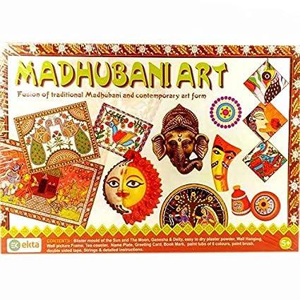 Buy Ekta- Madhubani Art Board Game For Kids Online at Low Prices in