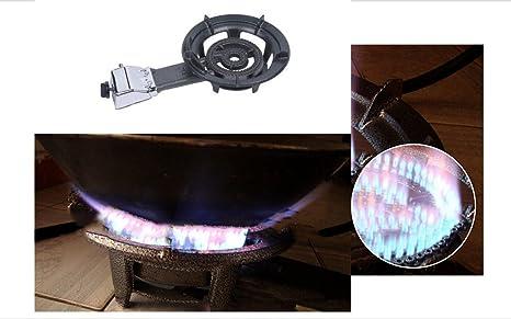 Único portátil estufa de gas propano, para camping, cocina, comercial, Nota: