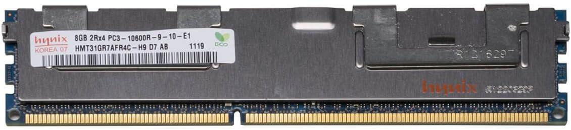 HMT31GR7AFR4C-H9 HPE 8GB 2RX4 PC3-10600R SERVER MEMORY MODULE 1X8GB