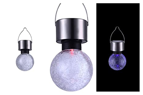 Lampe solaire LED lampe solaire éclairage de jardin lampe suspension ...