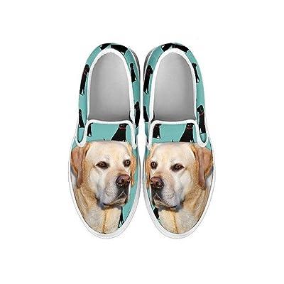 67785f1264d16 Petxclusive Kids Slip ONS-Labrador Dog Print Slip ONS Shoes for Kids