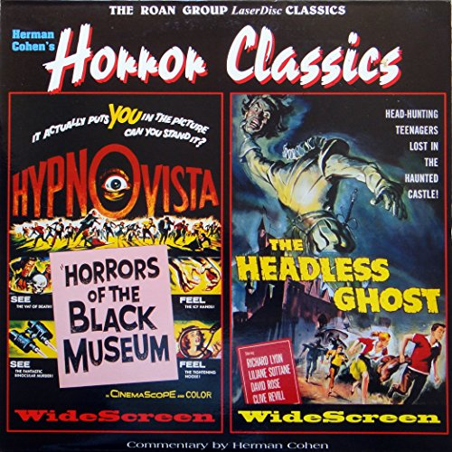 Horrors of the Black Museum/The Headless Ghost (LASERDISC)