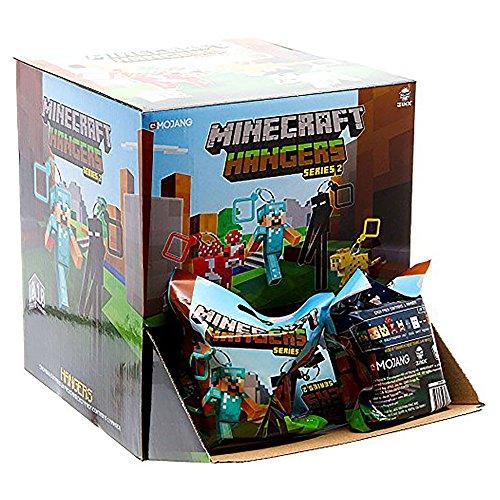 "JINX Minecraft 3"" Figure Hangers Blind Pack, Series 2 (Styles May Vary), Pack of 24 -  634746364449"