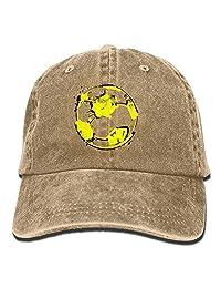 MDFY OEWGRF Graffiti Football Unisex Adjustable Baseball Caps Denim Hats
