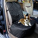 Cheap FENGRUIL Dog Front Seat Cover for Cars Nonslip and Waterproof Backing with Anchors/Quilted/Padded Pet Bench Car Seat Protector Covers for Bucket Seat Trucks & SUVs (Front)