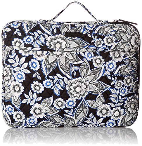 Laptop Organizer Messenger Bag Bag, Snow Lotus, One (Vera Bradley Tech Case)