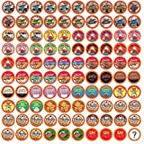 Two Rivers Coffee Flavoured Coffee Pods Variety Pack Single-Cup, Compatible with Keurig 2.0 K-Cup Brewers, 100 Count