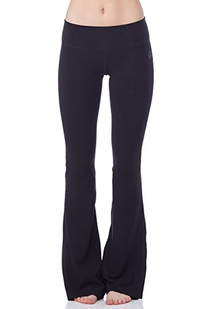 """shop best sellers thoughts on best website Green Apple Womens Active - 33"""" Stretch Bamboo Fitted Bootcut Yoga Pant –  S, M, L,"""