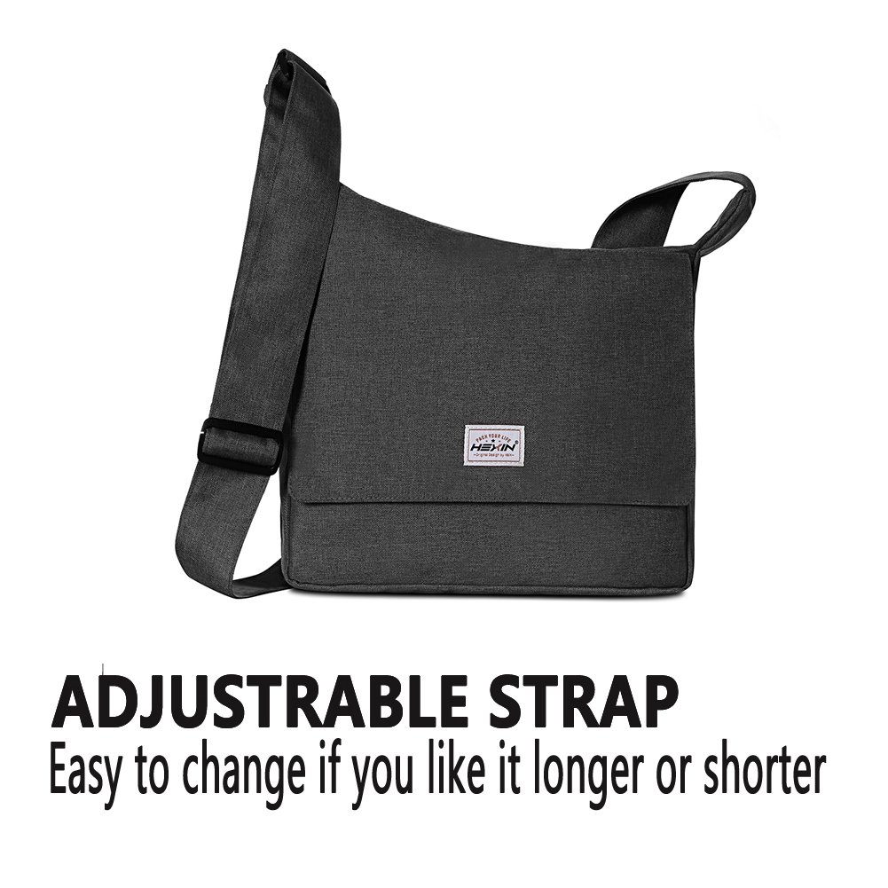 01f60e8ae1b4 Amazon.com  HEXIN Women s Shoulder Bags Casual Handbag Fashion Messenger  Cross Body Bags Black  HEXIN INC