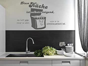 Wandtattoo-bilder® Wandtattoo Sprüche Diese Küche ist ...