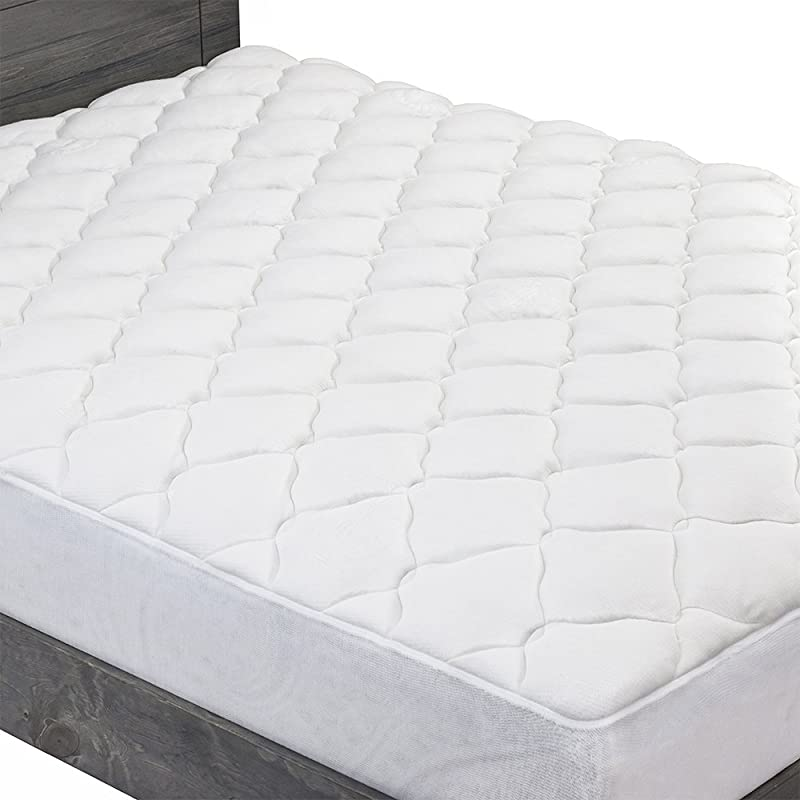 ExceptionalSheets Extra Plush Bamboo Fitted Mattress Topper