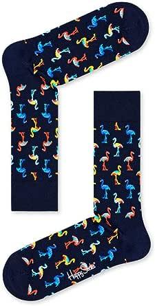 Happy Socks Navy Gift Box Calcetines, Multicolor (Multicolour 620), 7/10 (Talla del fabricante: 41-46) (Pack de 4) para Hombre