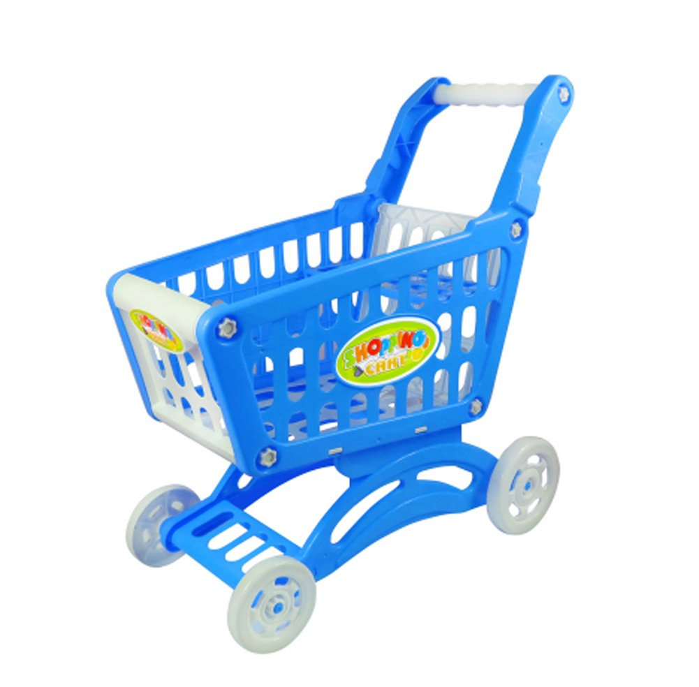 Children's Simulation Supermarket Shopping Cart Toys Gifts, W2 Dragon Sonic