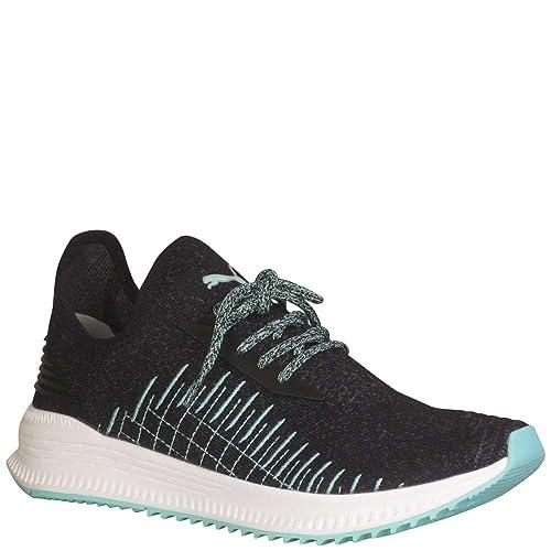 53ccdf95f44 Puma Men s Avid Evoknit Diamond Fashion Sneakers Puma Black Dark Shadow 9  D(M