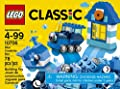 LEGO Classic Blue Creativity Box 10706 Building Kit by LEGO