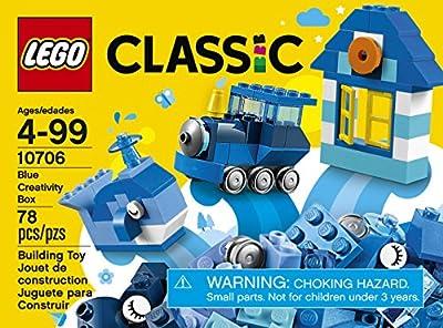 LEGO Classic Blue Creativity Box 10706 Building Kit by LEGO