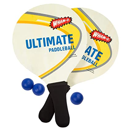 Amazon.com: Wham-o Ultimate Padel Juego: Sports & Outdoors