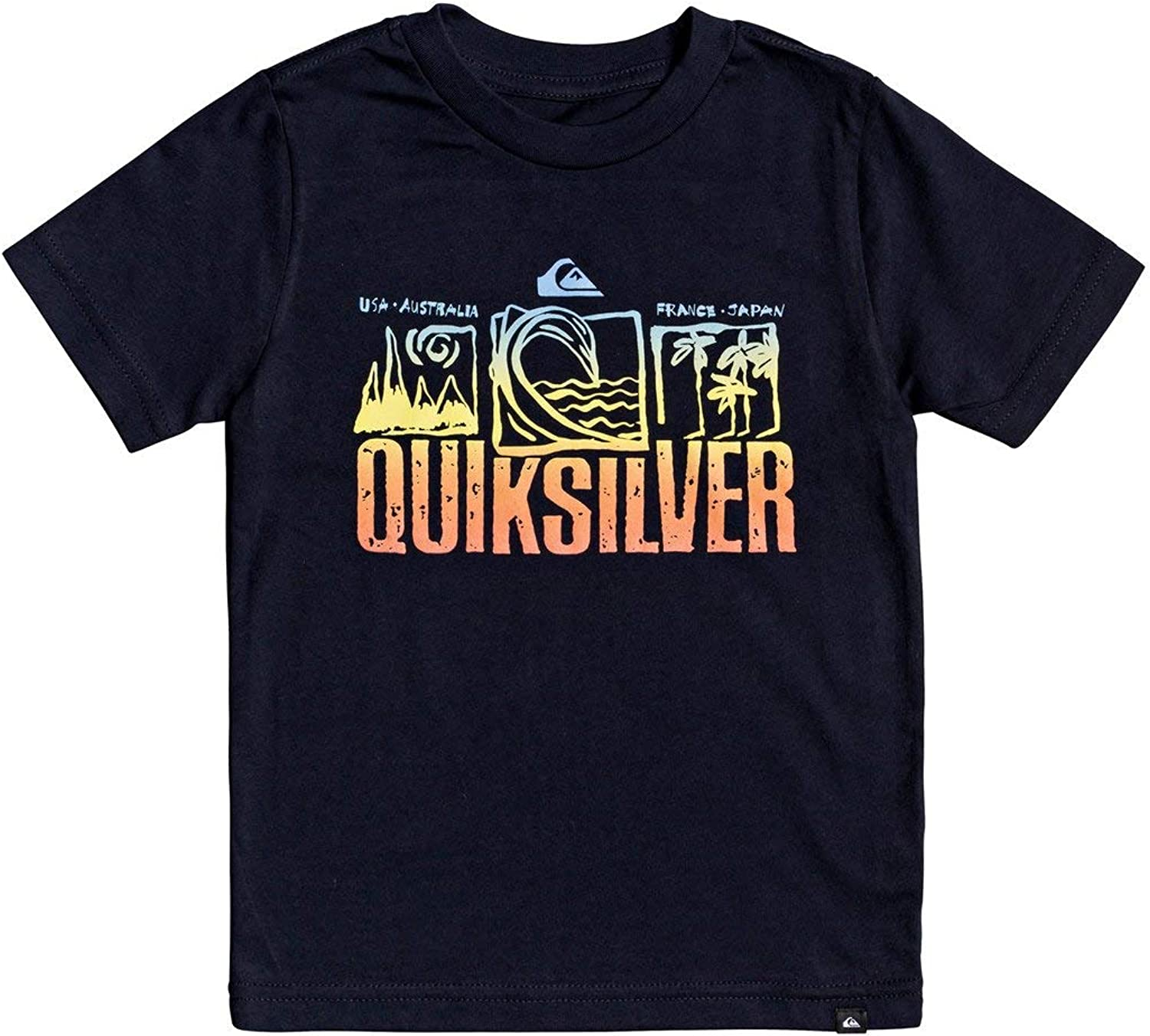 QUIKSILVER Boys Little Triple Up Tee