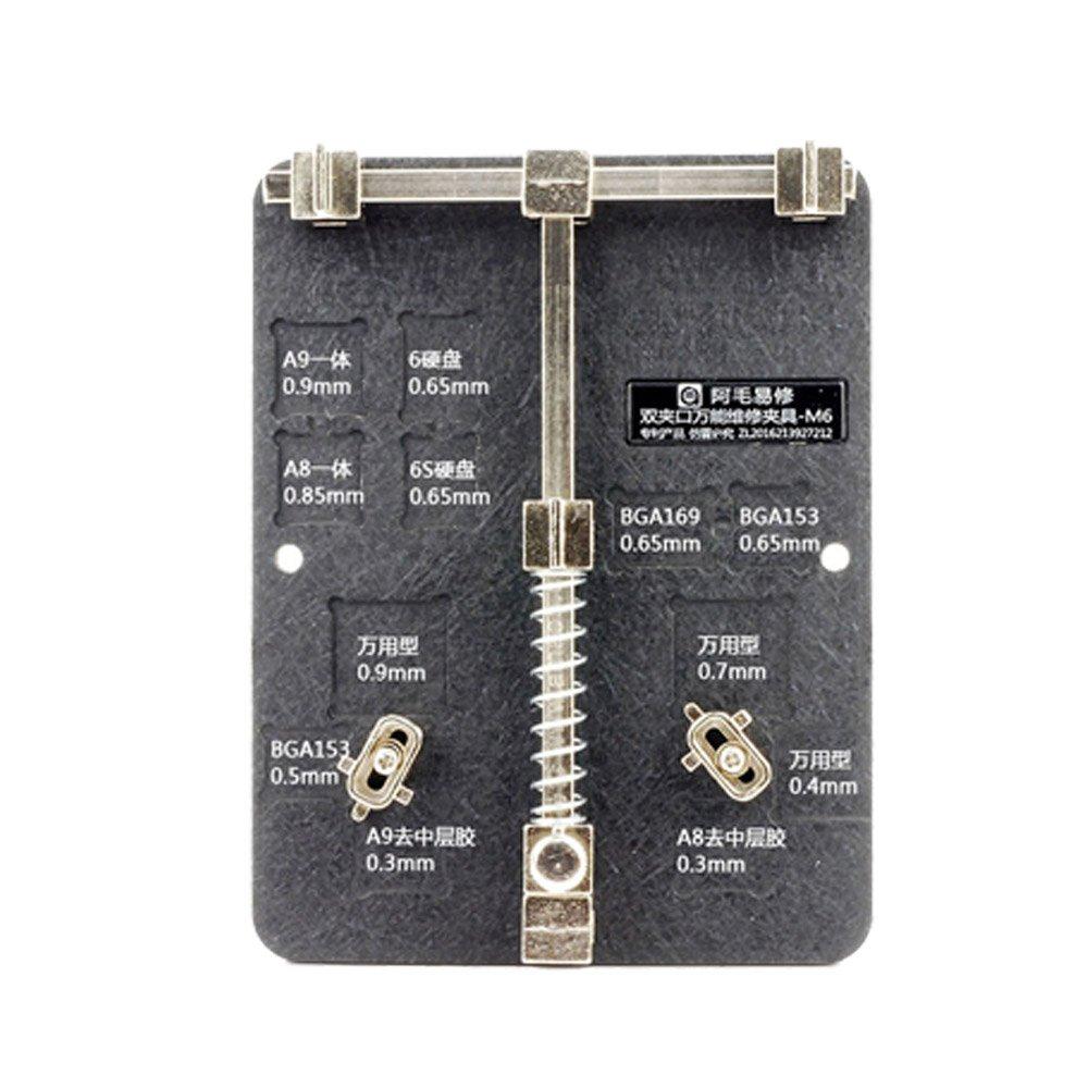 Vipfix Universal Pcb Motherboard Jig Fixture New Circuit Board Holder Repairing Repair Tool For Mobile Phone Professional Clamp Iphone 6 6s A8 A9 Bga153 Home