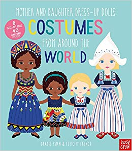 amazon mother and daughter dress up dolls costumes from around