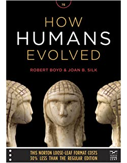 Amazon how humans evolved seventh edition 9780393614862 how humans evolved norton loose leaf fandeluxe Gallery