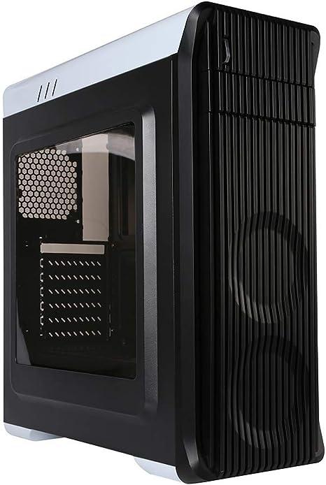 Marvo CA-209 Mini ATX PC Gaming Tower Negro Carcasa de Ordenador: Amazon.es: Informática