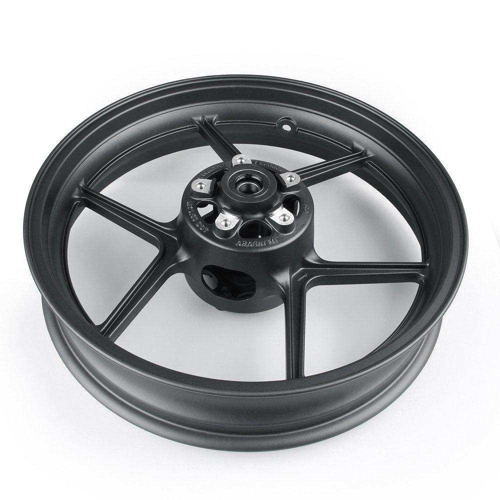 Artudatech Front Wheel Rim For Kawasaki ER6N 2006-2012 ZX10R 2004-2005 Black by Artudatech (Image #4)