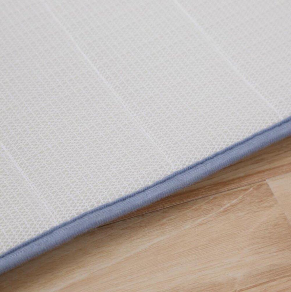 60Cm TWGDH Home Anti-Fatigue Memory Foam Tappeti da Bagno Tappeti da Bagno Rettangolo Soft Absorbent Non Skid Runner Area Tappeto Adatto per Cucina E Bagno Tappeto Camera da Letto,Beige,40