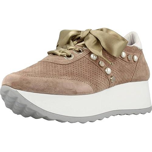Calzado Deportivo para Mujer, Color marrón, Marca CETTI, Modelo Calzado Deportivo para Mujer CETTI C1146 Marrón: Amazon.es: Zapatos y complementos