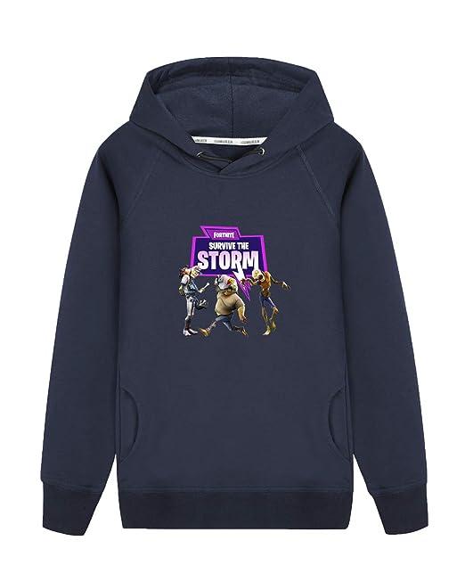 Aoliait Fortnite Sudaderas con Capucha Camisetas de Manga Larga Suéter Casuales Sweatshirts Hipster Sueter para Niño y Niña: Amazon.es: Ropa y accesorios