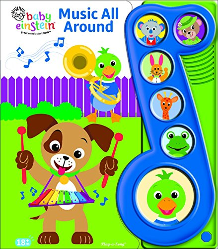 Baby Einstein Little Music Note Sound Board Book
