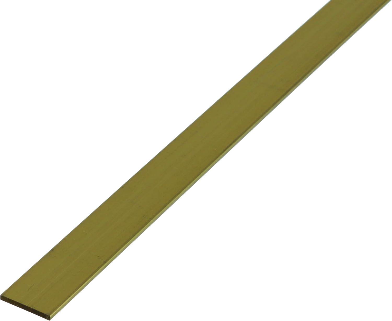 GAH-Alberts 471323 - Barra plana de latón (1000 x 10 x 2 mm)