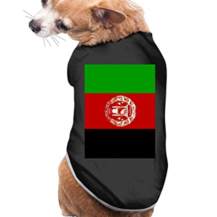 180321260782 Image Unavailable. Image not available for. Color  Shenghong Lin Afghan  Flag Summer Pet Clothes ...