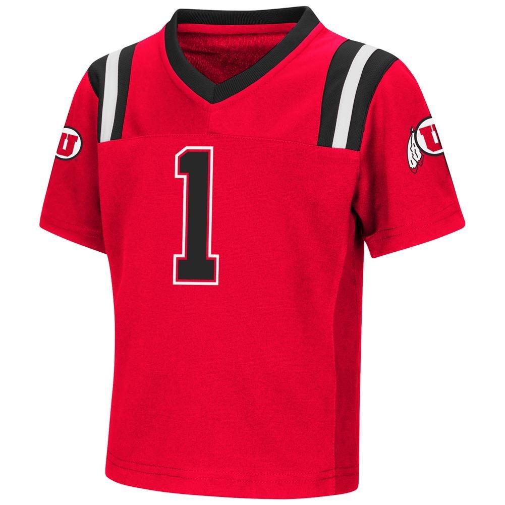 Colosseum Utah Utes NCAAダブル逆再生幼児用Football Jersey 2T  B07F1Z2LFK