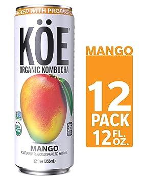 KÖE Organic Kombucha Cans